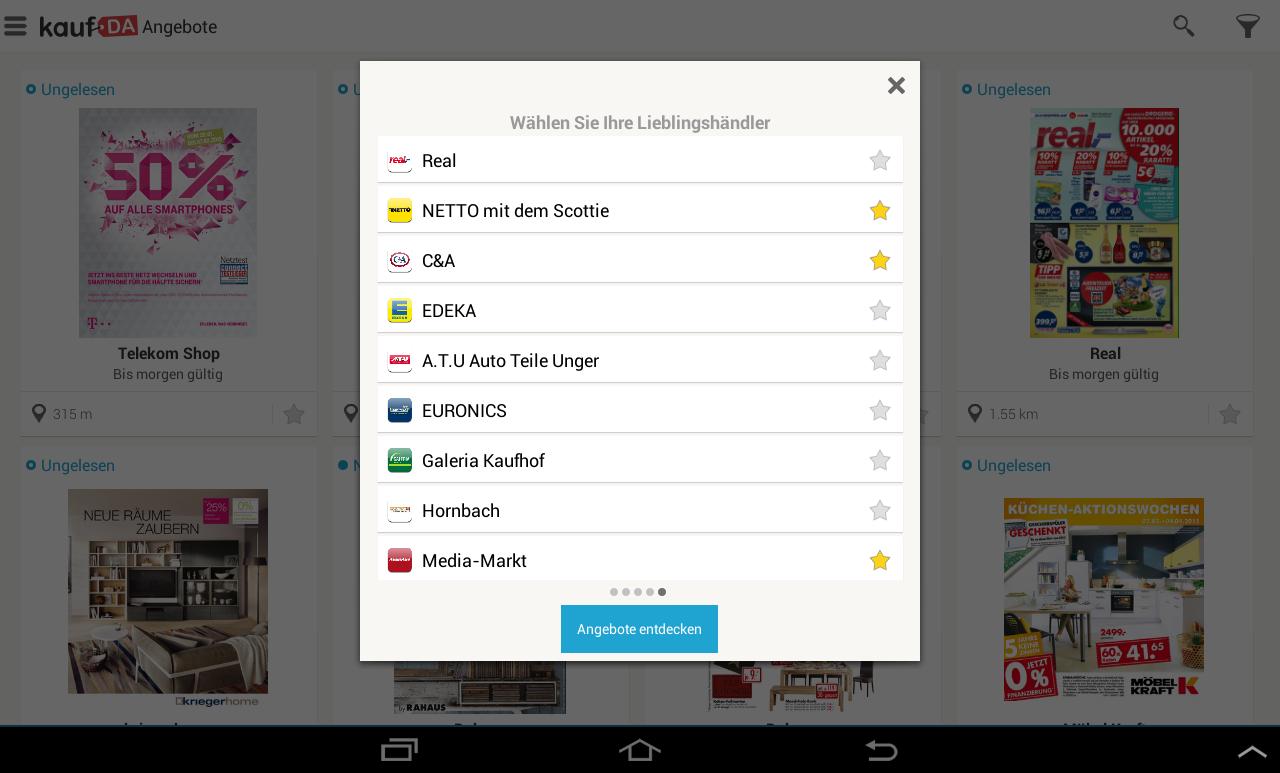 kaufDA- screenshot