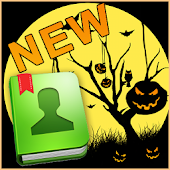 GO Contacts EX Theme Halloween