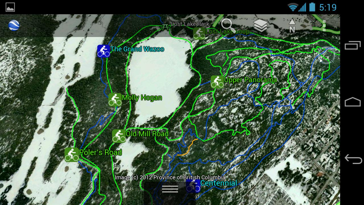 3D Whistler - Summer Map - screenshot