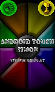 Android Touch Simon - screenshot thumbnail