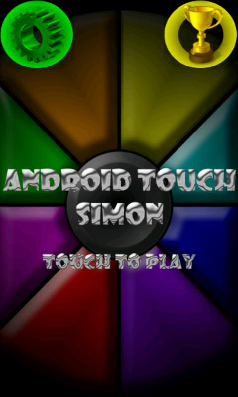 Touch Simon - screenshot