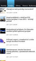 Screenshot of CFO World CZ
