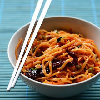 Schezwan Noodles.