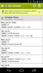 HotSchedules v2.23.6
