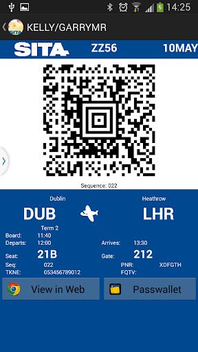 Boarding Pass API Sample