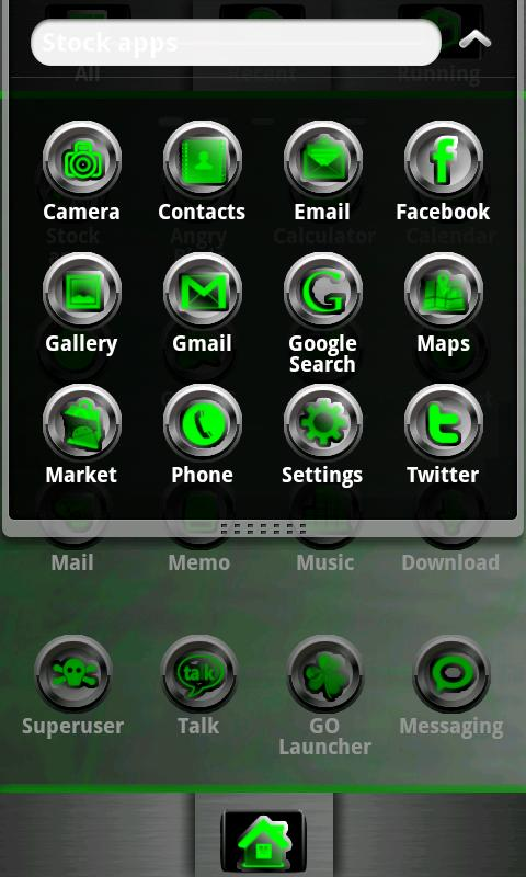 G-METAL GO Launcher EX - screenshot