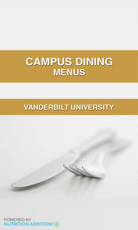 Menus - Vanderbilt - screenshot
