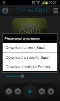 Screenshot of Holy Quran - Abo Bkr Al-Shatri