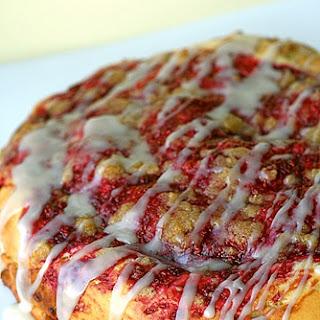 Raspberry Cream Cheese Coffee Cake.