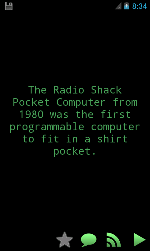 Amazing Computer Geek Facts - screenshot