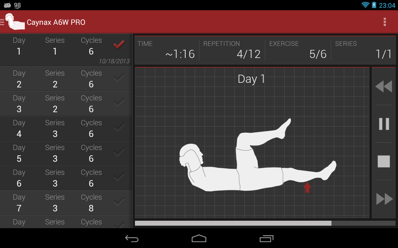 Abs workout PRO - screenshot