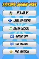 Screenshot of Kickups Legend Free - Tapups