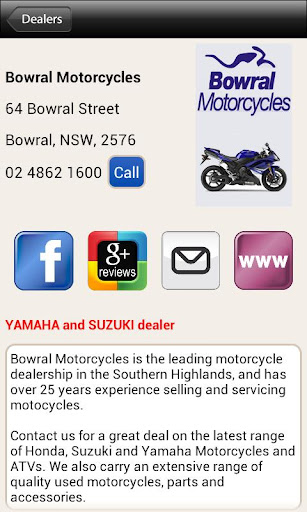 【免費交通運輸App】Motorcycle Dealers & Workshops-APP點子
