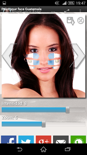 Paint your face Guatemala