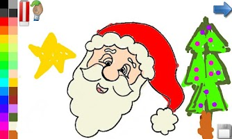 Screenshot of Coloring Book Christmas & Kids