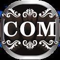 COM 3D Theme GO Launcher EX logo