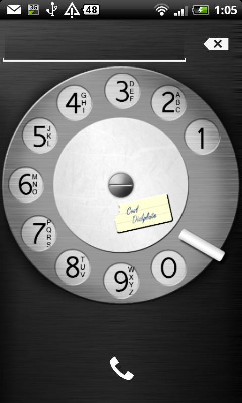 Cool Dialplate - Rotary Phone - screenshot
