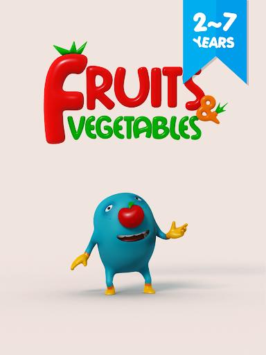 Couu Fruit Vegetable WordsCard