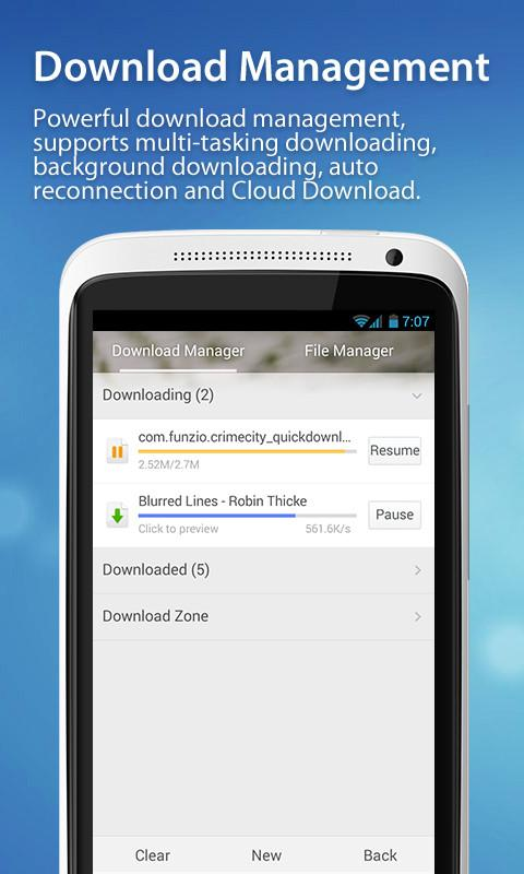 UC Browser - Navigateur - screenshot