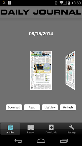Daily Journal E-Edition