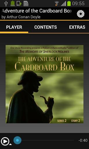 Adventure of the Cardboard Box