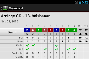 Screenshot of myCaddie (FREE) - Golf GPS