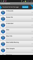 Screenshot of Funny Ringtones