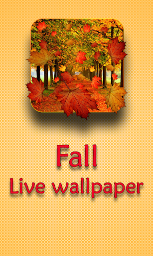 Fall Live Wallpaper