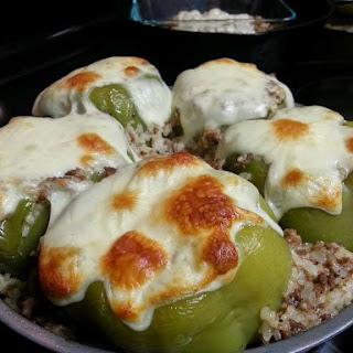 Not Your Typical Stuffed Green Peppers.