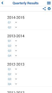 Marico Investor App - screenshot thumbnail