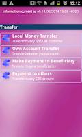 Screenshot of Commercial Bank of Ethiopia