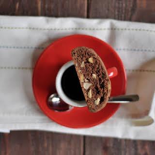Chocolate-Halzelnut Biscotti.