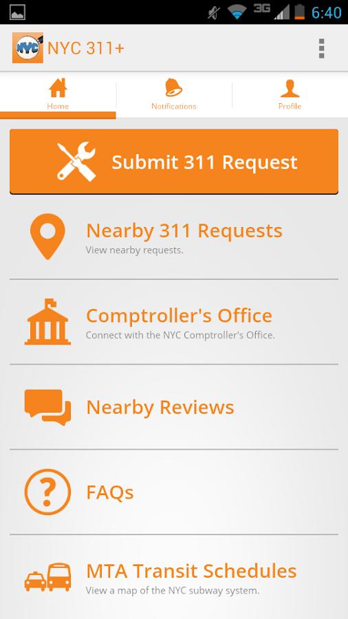 PublicStuff Mobile - screenshot