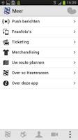 Screenshot of sc Heerenveen