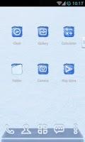 Screenshot of Frozen Next Launcher 3D Theme