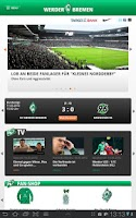 Screenshot of SV Werder Bremen