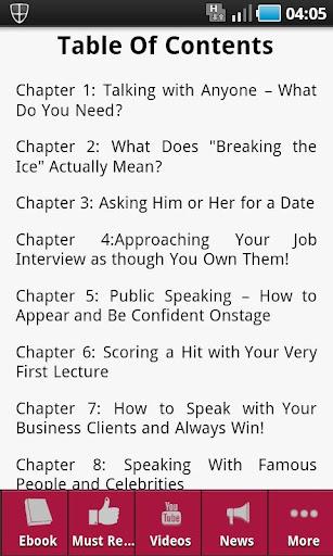 【免費書籍App】Speak With Confidence-APP點子