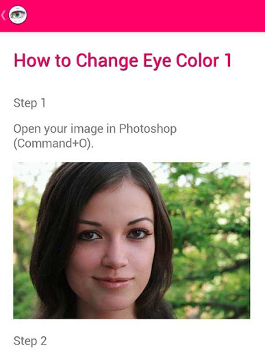 Eye Color Changing Guide