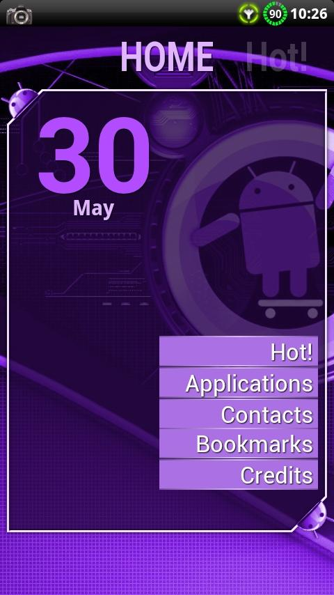 Cyanogen Purple ssLauncher- screenshot