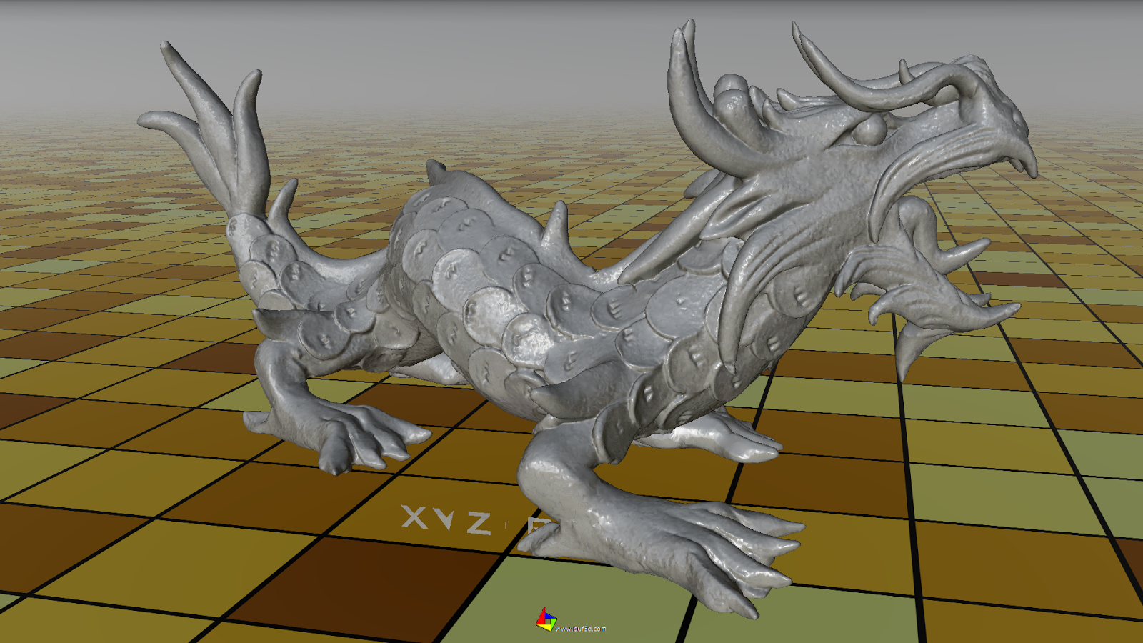 Buf3D+ 3d viewer & convert- screenshot