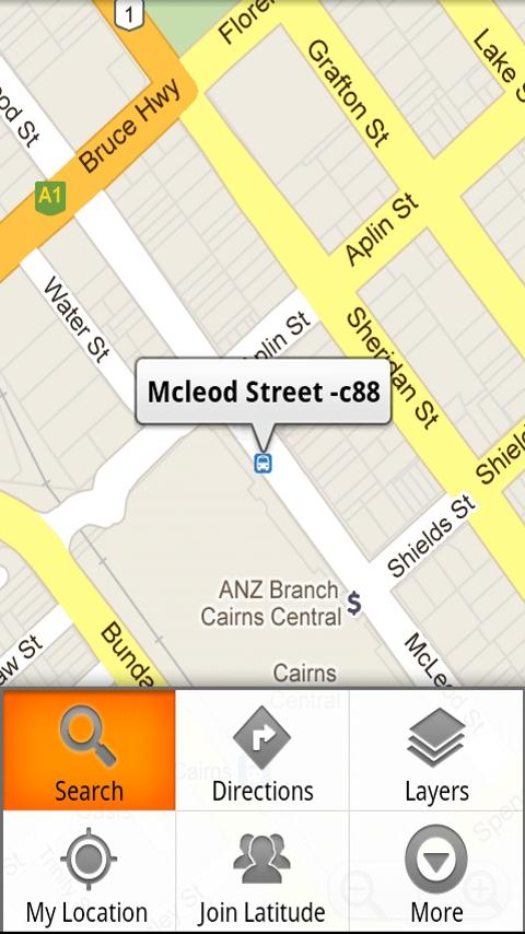 Sunbus Tracker Cairns- screenshot