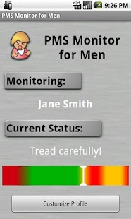 PMS Monitor for Men - screenshot thumbnail