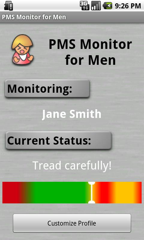 PMS Monitor for Men - screenshot
