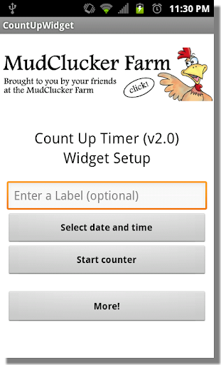 Ad-Free_Count Up Widget