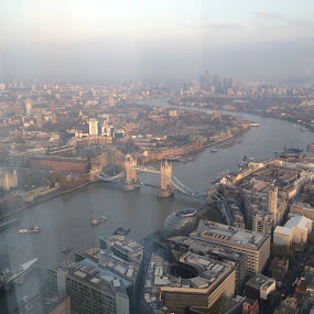 From the Shard by Shelina Khimji - Buildings & Architecture Architectural Detail ( shard, london, scenic view, view,  )