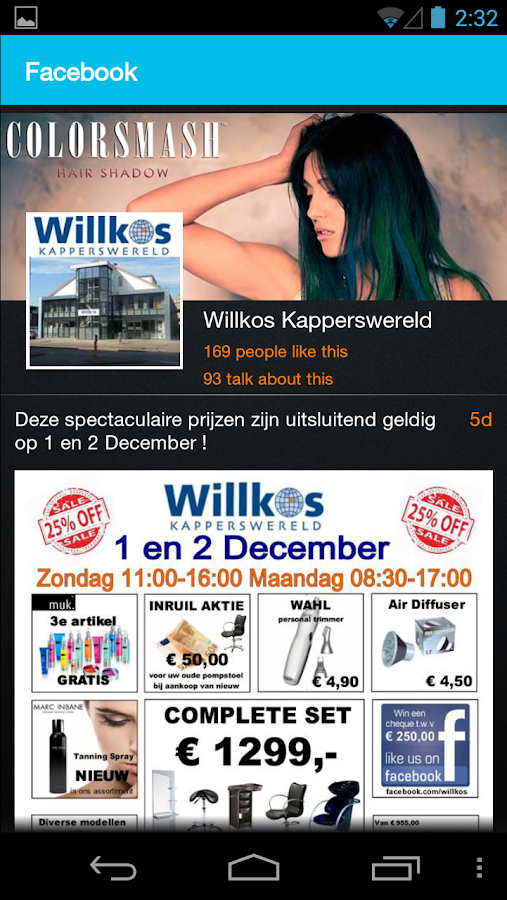 Willkos Kapperswereld - screenshot