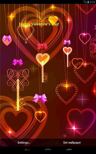心型浪漫動態壁紙