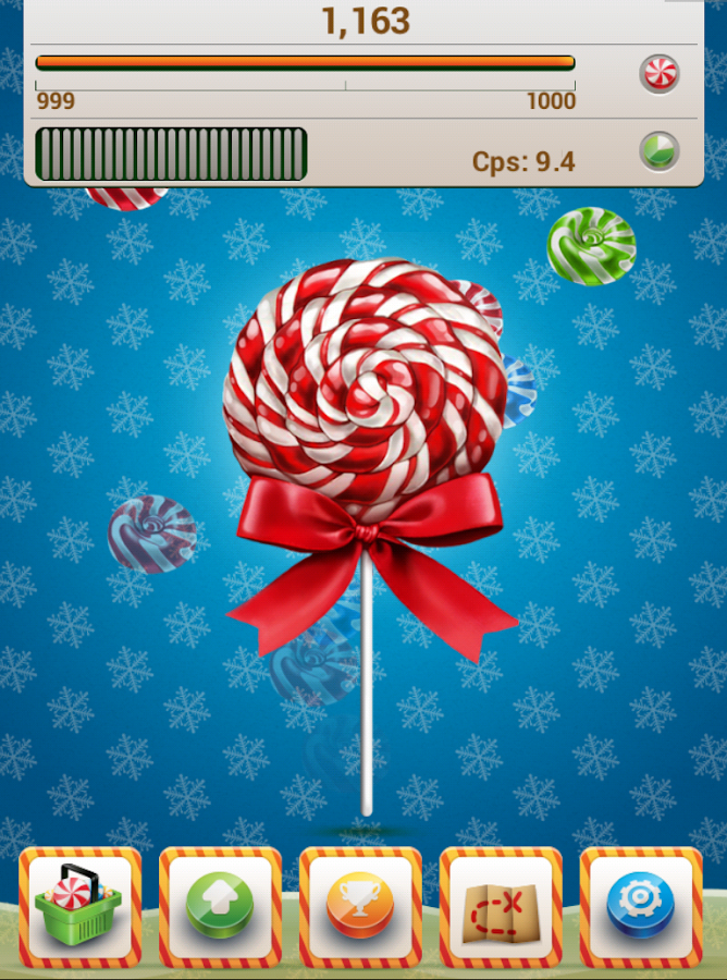 Sweet Cookie Clicker - screenshot