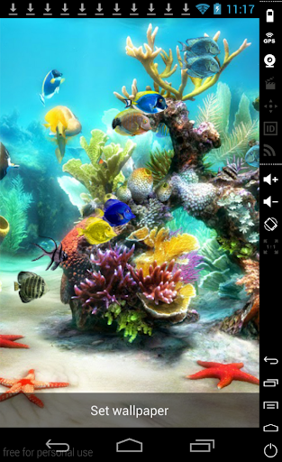 3D Coral Reef HQ LiveWallpaper