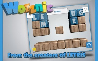 Screenshot of Wozznic: Word puzzle game